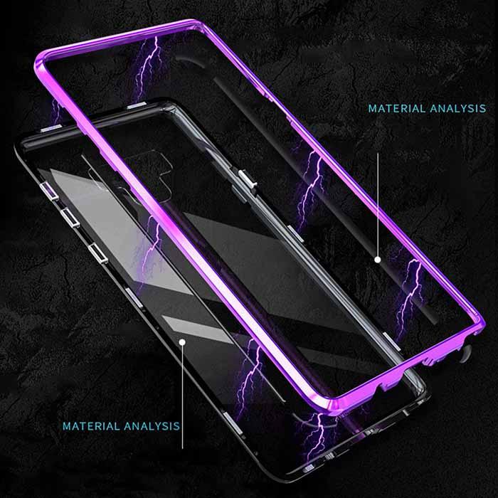 قاب مگنتی سامسونگ Magnetic Adsorption Technology Metal Frame Case | Galaxy Note 9