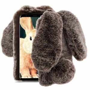 قاب گوشدار سامسونگ Kissacase Rabbit Fur Winter Case | Galaxy Note 9