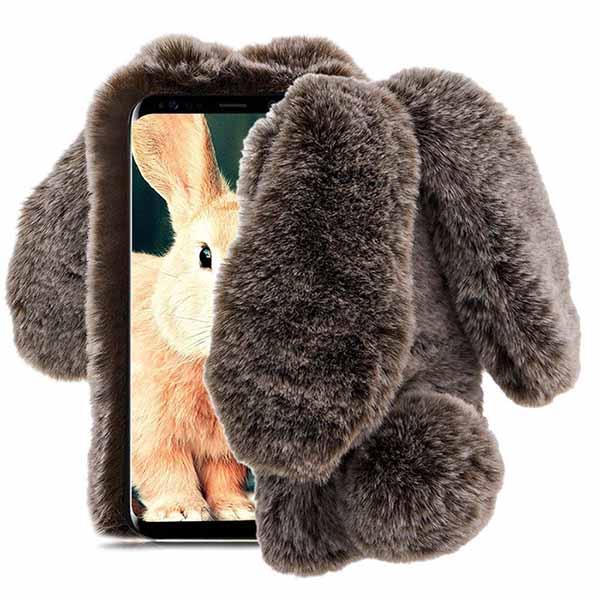 قاب گوشدار سامسونگ Kissacase Rabbit Fur Winter Case | Galaxy Note 9