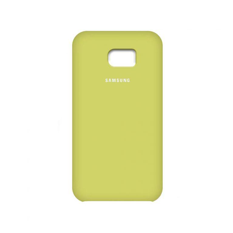 قاب سیلیکونی سامسونگ Soft Liquid Gel Silicone Rubber Cover | Galaxy S7 Edge