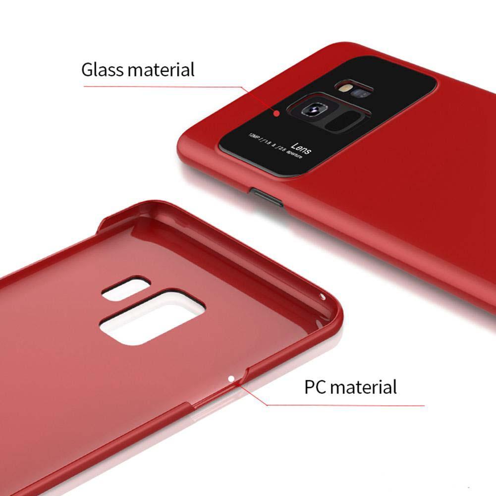 قاب محافظ سخت سامسونگ Spigen Glass Lens Ultra Thin Hard Plastic Case   Galaxy S9