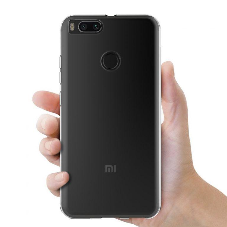 قاب محافظ ژله ای شیائومی Mi Clear Silicone Case Xiaomi Mi 5X | Mi A1