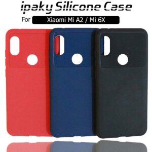 قاب محافظ سیلیکونی شیائومی ipaky Silicone Anti Shock Case Mi 6X | Mi A2