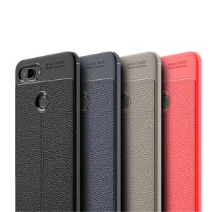 قاب طرح چرم شیائومی Auto Focus Litchi Case Xiaomi Mi 8 Lite | Mi 8 Youth