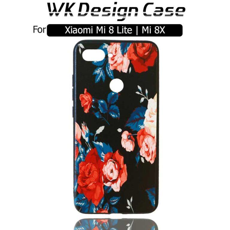 قاب محافظ فانتزی شیائومی WK Design Flower Case Xiaomi Mi 8 Lite | Mi 8X