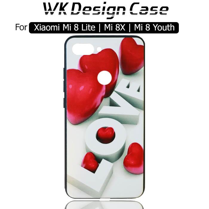 قاب محافظ شیائومی WK Girls Flower Design Case Xiaomi Mi 8 Lite   Mi 8X   Mi 8 Youth