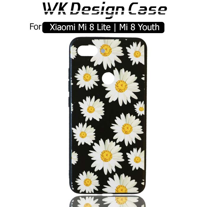 قاب طرح دار شیائومی WK Silicone Flower Case Xiaomi Mi 8 Youth | Mi 8 Lite
