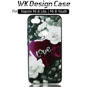 قاب طرح دار شیائومی WK Soft TPU Girl Design Case Xiaomi Mi 8 Lite | Mi 8 Yoth