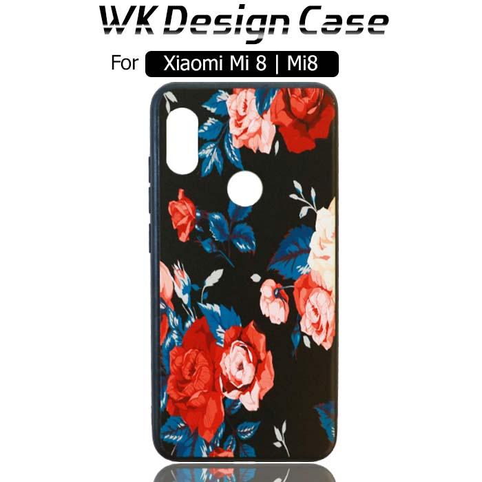 قاب فانتزی طرح دار شیائومی WK Design Soft Silicone Case | Xiaomi Mi 8