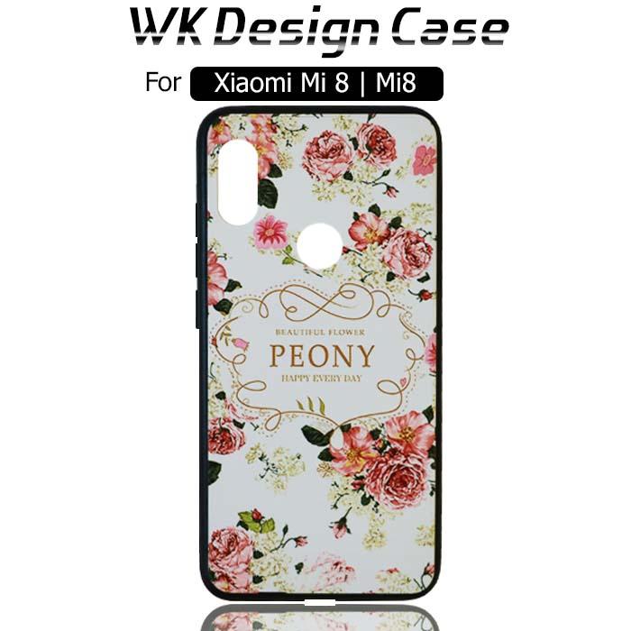قاب طرح دار شیائومی WK Unique Girls Design Protective Case | Xiaomi Mi 8