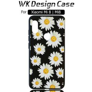 قاب محافظ طرح دار شیائومی WK Beautiful Flower Design Painted Cover | Xiaomi Mi 8