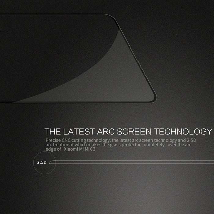 محافظ صفحه تمام چسب شیائومی Mi Full Body 9D Glass | Xiaomi Mi Mix 3
