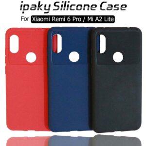قاب محافظ شیائومی ipaky Silicone Anti Shock Case Xiaomi Mi A2 Lite | Redmi 6 Pro