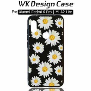 قاب طرح گل شیائومی WK Soft TPU Flower Design Case Xiaomi Redmi 6 Pro | Mi A2 Lite