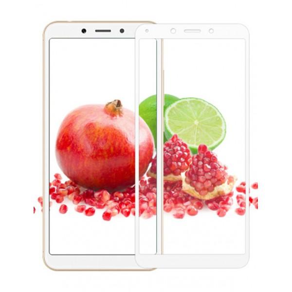 محافظ صفحه تمام چسب شیائومی Mi Full Coverage 5D Glass | Xiaomi Redmi 6A