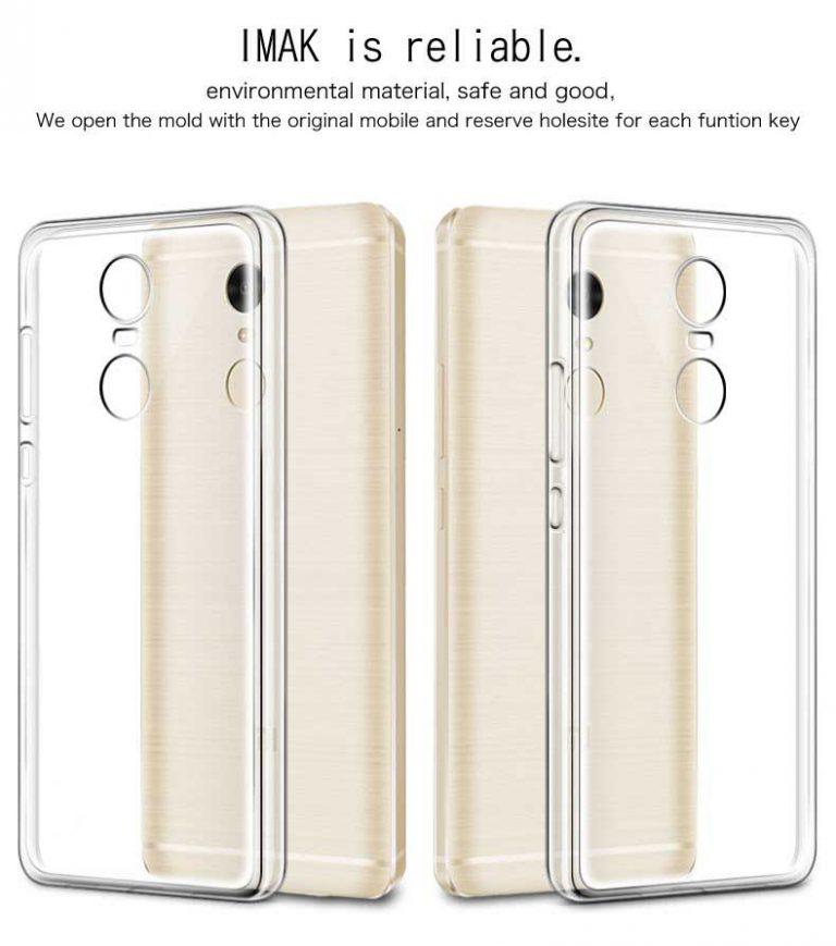 قاب محافظ شیائومی Mi Clear Silicone Case | Xiaomi Redmi Note 4X