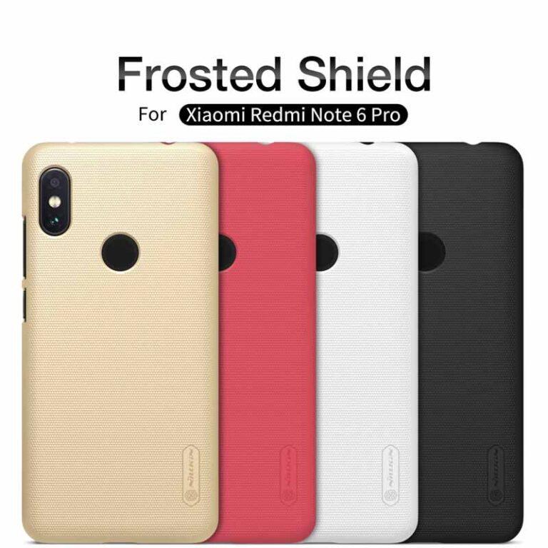 قاب محافظ شیائومی Frosted Shield Matte Nillkin Cover | Xiaomi Redmi Note 6 Pro