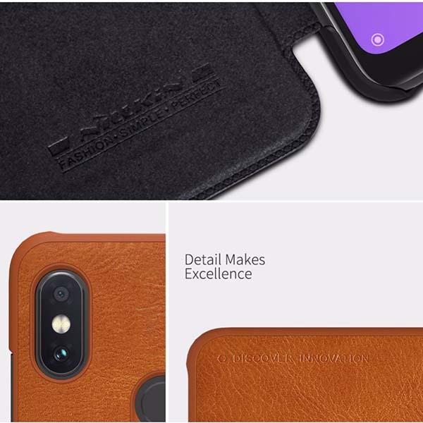 کیف نیلکین شیائومی Nillkin Qin Series Flip Cover | Xiaomi Redmi Note 6 Pro
