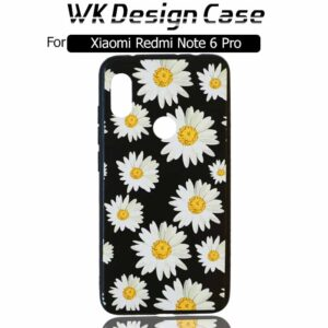 قاب طرح گل شیائومی WK Soft TPU Flower Design Case | Redmi Note 6 Pro