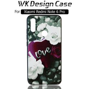 قاب محافظ شیائومی WK Design Floral Painted Case | Xiaomi Redmi Note 6 Pro
