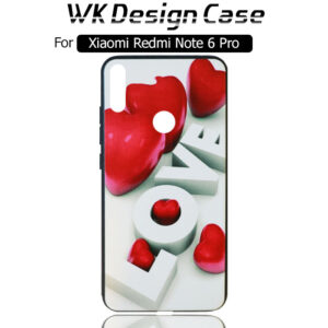 قاب طرح دار شیائومی WK Design Soft Silicone Case | Xiaomi Redmi Note 6 Pro