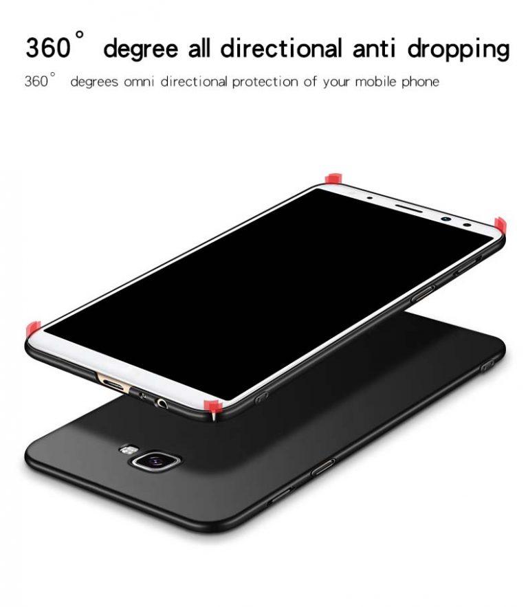 قاب محافظ سامسونگ Slim Frosted Hard Case Galaxy j4 Plus   j4 Prime