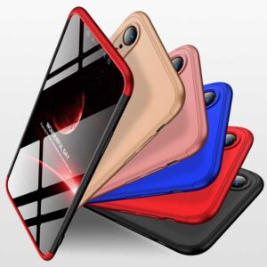 قاب محافظ سه تیکه اپل GKK 3 in 1 Full Coverage Hard PC Matte Case | iphone XR