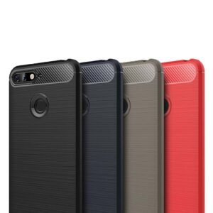قاب اوریجینال فیبر کربن آنر Brushed Rugged Armor Carbon Fiber Case Honor 7C | Enjoy 8