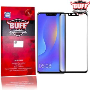 محافظ تمام صفحه بوف هواوی BUFF Shock Absorption Full 5D Glass | Huawei Nova 3