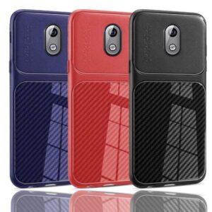 قاب اتو فوکوس فیبر کربن نوکیا Auto Focus Soft Carbon Fiber Case | Nokia 3.1