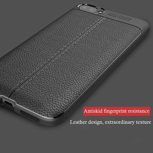 قاب اتو فوکوس ایسوس Litchi Leather Pattern Auto Focus Case | Zenfone 4 Max ZC554KL