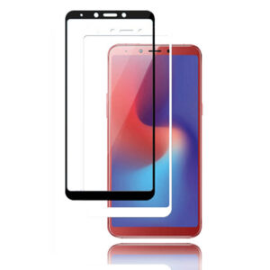 محافظ صفحه تمام چسب سامسونگ MB Full Coverage Full Glue 5D Glass | Galaxy A6s