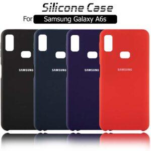 قاب سیلیکونی اوریجینال سامسونگ Liquid Silicone Soft Rubber Cover | Galaxy A6s