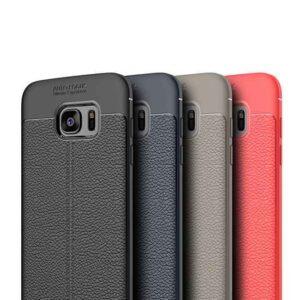 قاب اتو فوکوس سامسونگ Litchi Leather Pattern Auto Focus Case | Galaxy Note 5