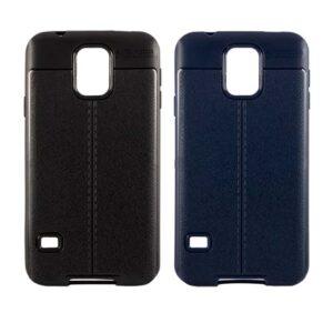 قاب اتو فوکوس سامسونگ Auto Focus Litchi Texture Case | Galaxy S5