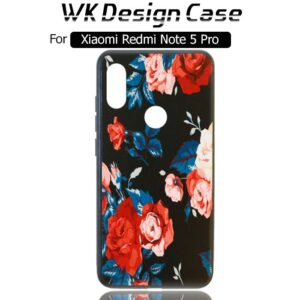 قاب فانتزی طرح دار شیائومی WK TPU Silicone Flower Design Case | Redmi Note 5 pro