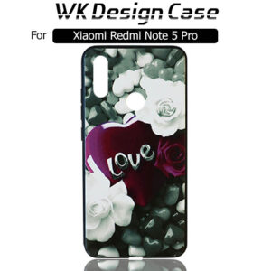 قاب محافظ شیائومی WK Girls Design Silicone Flower Case | Xiaomi Redmi Note 5 pro