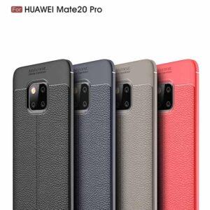 قاب اتو فوکوس هواوی Auto Focus Litchi Texture Cover | Huawei Mate 20 Pro