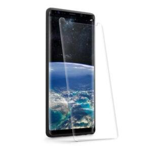محافظ تمام صفحه یو وی سامسونگ 3D Curved Tempered Glass UV Light | Galaxy Note 9