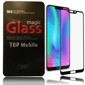 محافظ صفحه تمام چسب آنر Magic Full Coverage Edge To Edge 5D Glass | Honor 8C