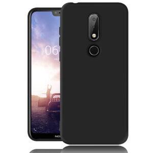 قاب محافظ ژله ای نرم نوکیا TPU Soft Thin Silicone Cover Nokia X6 | Nokia 6.1 Plus