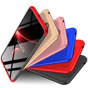 قاب 360 درجه نوکیا GKK 3 in 1 Full Coverage Matte Case Nokia X6 | Nokia 6.1 Plus