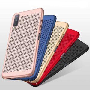 قاب توری سامسونگ VODEX Mesh Cooling Hollow Case Galaxy A7 2018 | A750