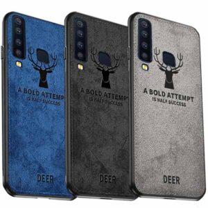 قاب محافظ گوزنی سامسونگ Cloth Texture Deer Case Galaxy A9 2018 | A9 Star Pro | A9s