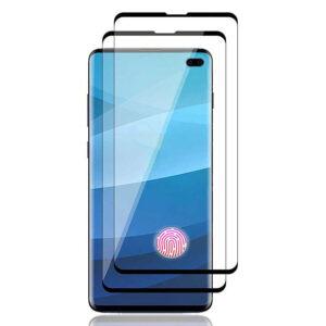 محافظ صفحه پوشش منحنی تمام چسب سامسونگ MB Full Cover 5D Glass | Galaxy S10