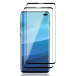 buy price samsung galaxy s10 plus 5D full coverage full glue tempered screen glass گلس گوشی