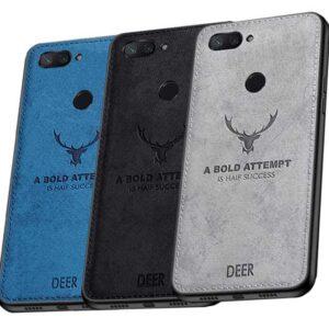 قاب گوزنی شیائومی Cloth Texture Deer Case Xiaomi Mi 8 Lite | Mi 8X | Mi 8 Youth