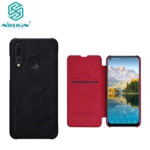 کیف چرمی نیلکین هواوی Nillkin Qin Series Leather Flip Cover | Huawei Nova 4
