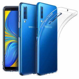قاب محافظ ژله ای پشت طلقی سامسونگ Crystal Clear Case Galaxy A7 2018 | A750