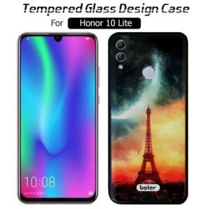 قاب طرح سرامیکی فانتزی آنر Boter Glass Pattern Desined Case | Honor 10 Lite